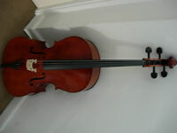 Full size cello -good condition, ready to play, good beginners instrument