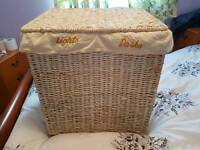 Laundry whicker basket great condition