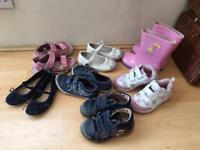 Girls, kids shoes, boots, wellies, M&S, Peppa pig, Disney princess, George Asda