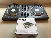 Numark Mixtrack Dj Controller with Numark DJ iO soundcard