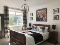 😍 NEWLY RENOVATED LARGE 2 BEDROOM VILLA OVERLOOKING GOLF COURSE IN CORSTORPHINE VILLAGE 😍