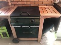 Outback 2 burner wooden gas BBQ