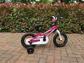 "AS NEW 2016 edition PINK Specialized 12"" A1 grade Aluminium light weight girls bike - £65"