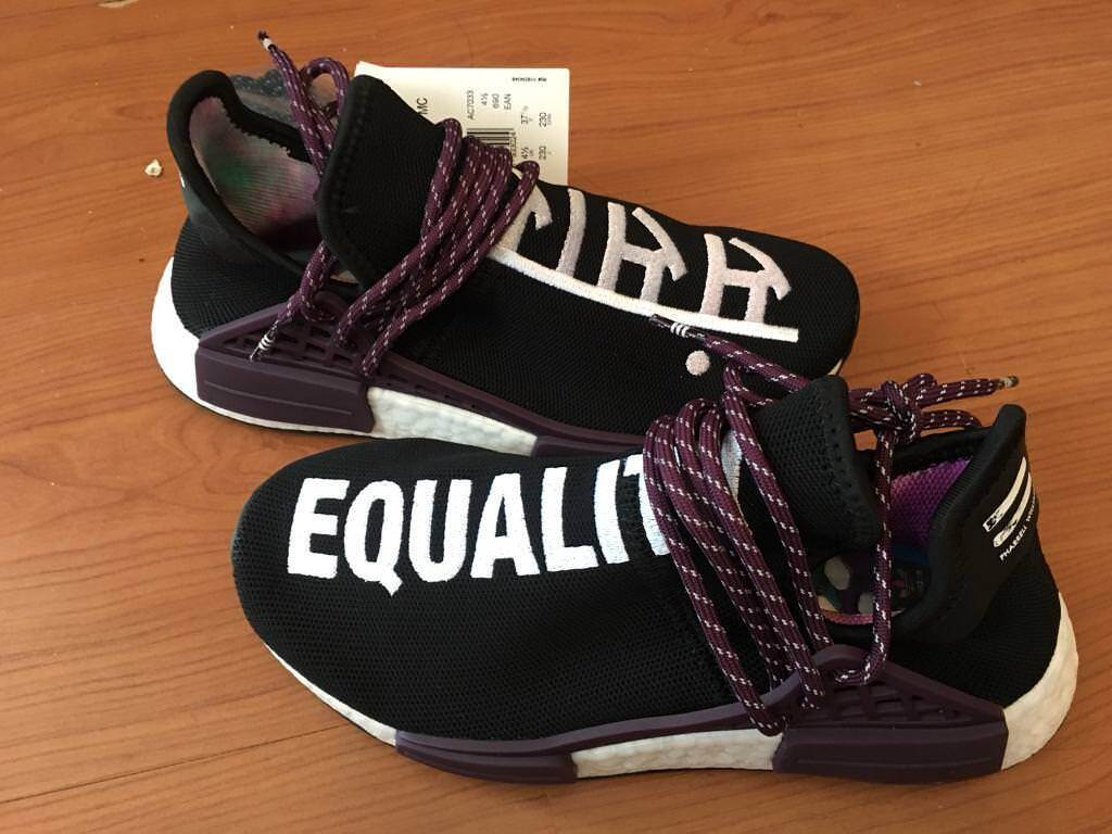 f60f0846c013 Human Race NMD Pharrell Holi Festival (Core Black) 4.5 UK