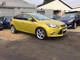 FORD FOCUS 1.6 TITANIUM 5d 148 BHP (yellow) 2011