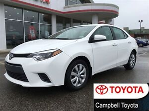 2015 Toyota Corolla LE GREAT SHAPE LOW COST HEATED CLOTH