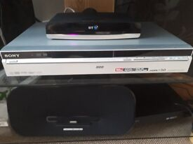 Sony 160GB PVR integrated Freeview PVR and DVD player.