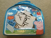 Peppa Pig Giant Double Sided Puzzle and Colour Brand new