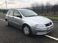 Fiat stilo active 1.4 petrol short mot 2004 plate £300 no offers