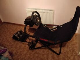 Playseat Challenge Simulator Racing Chair with Logitech G920 Steering Wheel + Pedals XBOX ONE & PC