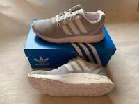 Adidas Originals Zx Flux Adv Tech Mens Running Trainers Shoe UK 6.5 Grey (N109)