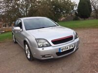 2004 (54) VAUXHALL VECTRA SRI CTDI 160 BHP DIESEL SAT NAV 5 DOOR HATCH BACK