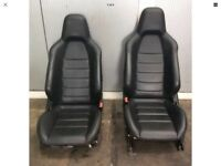 MERCEDES W204 C63 FRONT LEATHER SEATS
