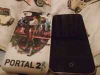 iPhone 4 with Portal 2 Case