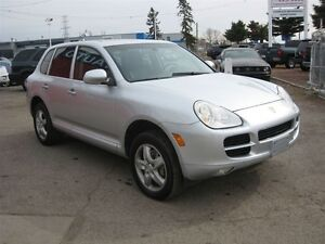 2005 Porsche Cayenne S/ LOADED / NAVI/ LEATHER/ ONLY 108K/ CERTI