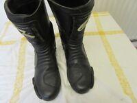 Alpinestars Motorcycle Boots Size 44 Euro