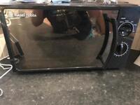 Russel Hobbes black microwave