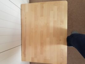 Ikea Norbo Birch space saving wall mounted folding table.