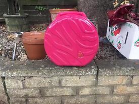 Pink antler bag