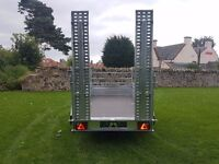New Trailer loading ramps and Rear side 10 x 5