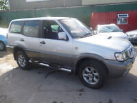 Nissan TERRANO II TDI Sport,clean tidy 7 seat 4x4,full MOT,half leather interior,great for towing