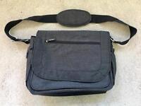 Mothercare dark grey shoulder change bag