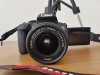 Canon 700D**mear mint condition**box with all accessories **LIKE NEW** With Tripod