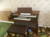 Cavendish 750 electronic organ and stool in excellent condition - free to a good home