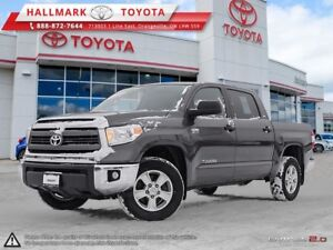2015 Toyota Tundra 4x4 CrewMax SR5 5.7 6A WELL MAINTAINED, ONE O