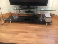 TV glass cabinet