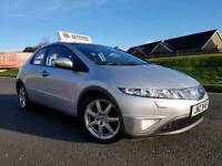 March 2007 Honda Civic 2.2 I-CDTI Sport (5 DOOR) Xenon Headlights! Great Car! FSH! Full Years MOT!