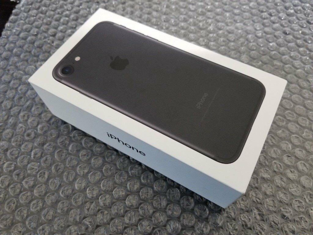 Brand New iPhone 7 32GB Black