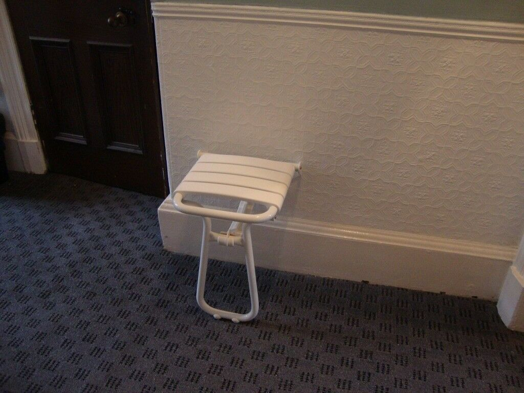 High End Solid Drop Down Shower Seat | in Southside, Glasgow | Gumtree