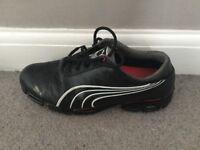 Puma golf shoes, size 10