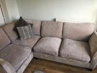 Sofology Corner sofa and footrest