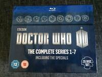 Dr Who The Complete Series on Blu-ray
