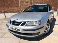 2006 / SAAB 9_3 LINEAR / ALLOY WHEELS / CD STEREO / AIR CONDITIONING / FULL MOT .