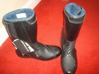 BMW motorcycle boots (new)