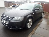 Audi a3 s line sports automatic (px welcome up to 500