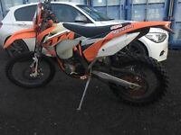 2016 model Ktm Exc 450 enduro road registered