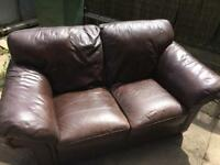2 seater sofa, free, still got some life in it.
