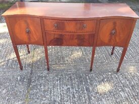 Wooden sideboard - check pictures!