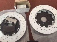 Vxr brake disc an pads new