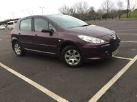 PEUGEOT 307 S 1.6 PETROL-- LOW MIL. -- FULL SERVICE HISTORY-- MINT CONDITION
