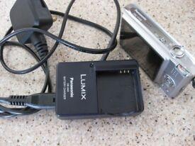Panasonic LUMIX DMC-FX33 8.1MP Digital Camera - Silver