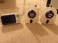 BT Digital Video Baby Monitor 1000, including extra camera (so 2 cameras in total)