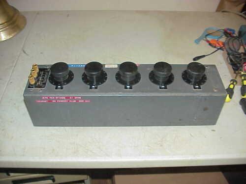 LEEDS & NORTHRUP AC/DC DECADE RESISTOR BOX