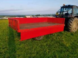 Tractor tipping trailer recent revamp