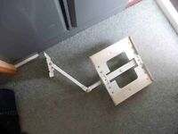 Television AVF Twin Articulated Wall Bracket