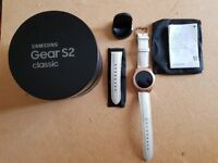 Samsung Gear S2 Classic smart watch Rose Gold